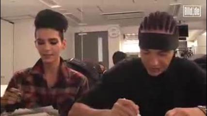 Bg subs! Tokio Hotel talks dirty in Tokyo