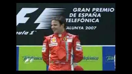 Felipe Massa - Победата В Испания, 2007