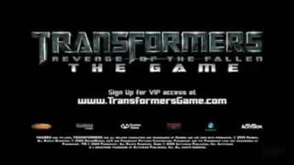 Transformers 2 the game Трейлър