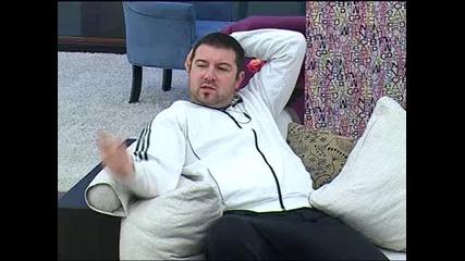 Big Brother /2012/ - Нед разказва на Лестер...