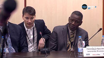 Пресконференция на Кубрат Пулев след победата над Хюи Фюри