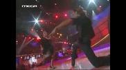 Танцуващата Helena Paparizou В So You Think u can dance Greece