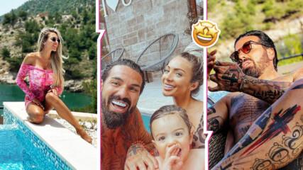 Лукс, блясък, море: Златка Райкова и Благой Георгиев откриха сезона в Гърция!