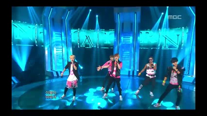 N-train - I'll forget you @ Music Core (14.07.2012)