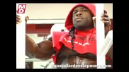 Kai Greene after Mr. Olympia 2009