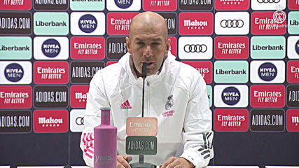 Spain: I want to give 100% - Zidane on his future as Real Madrid coach ahead of FC Barcelona clash