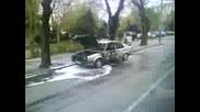 kola gori v Plovdiv