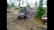 Камион Газ 66 Се Катери По Скала