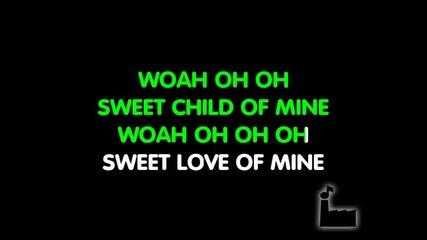 Guns N Roses - Sweet Child Of Mine - Karaoke