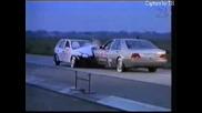 Crashtest Mercedes S - Klasse Vs. Opel Corsa