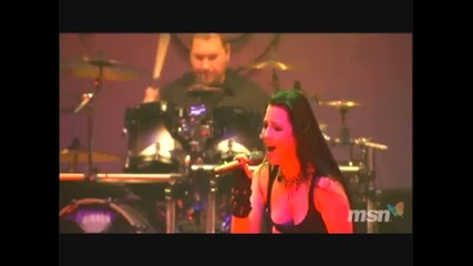 (part 1/7) Evanescence - Live In Japan 2007 (превод)