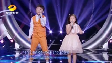Техният талант трябва да се види от целия свят! Брат и сестра от Китай изпълняват