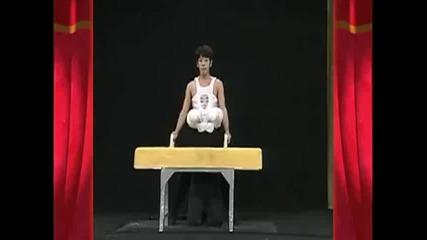 Подлудяващ гимнастик.. Смях