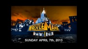 Wrestlemania 29 - Custom Theme Song Official [hd] 2013