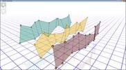 №09232 - Ленти от четириъгълници в OpenGL