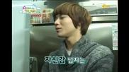 100202 Taemin imitates Onew