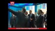 Путин и Сегал се срещнаха във Владивосток /04.09.2015 г./