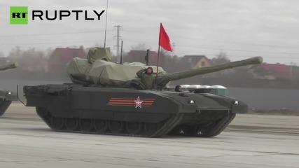 Тайното оръжие на Русия - Армата T-14 боен танк