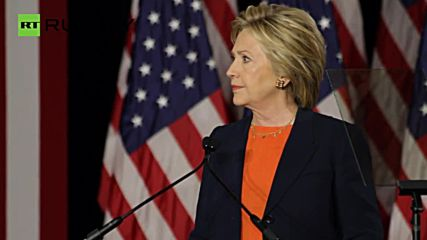 Clinton Slams 'Dangerously Incoherent' Trump During National Security Address