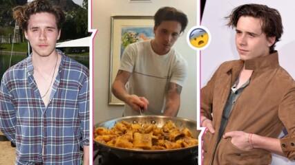 """""""Mamma mia! С това уби някоя баба в Лигурия"""": Бруклин Бекъм вбеси цяла Италия с готвенето си"""