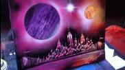 Amazing Spray Paint Art - Newyork City