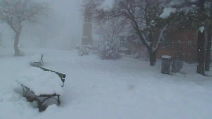 Зима В Пловдив На Младежкия Хълм