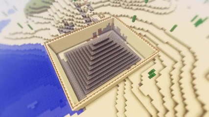 Minecraft - Някои от постройките ми