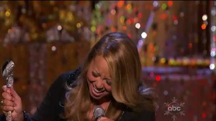 (hd) Mariah Carey Patricia Carey - O Come All Ye Faithful (live at Abc Christmas Special)