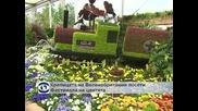 Елизабет II посети изложение на цветя в Лондон