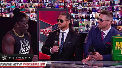 R-Truth must choose between The Miz & John Morrison: Raw Talk, Jan. 18, 2021