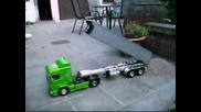 Scania igracha s distanciono opravlenie