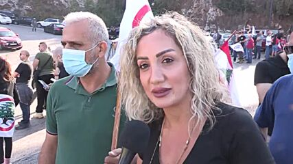 Lebanon: Supporters of 'Lebanese Forces' rally after party leader summoned to court