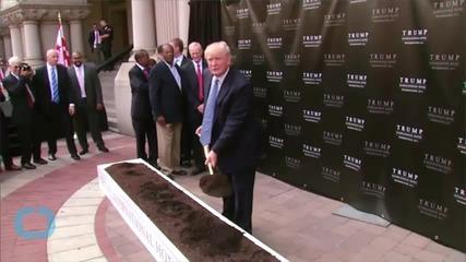 Donald Trump Launches Men's Fragrance