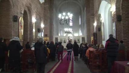 Патриарх Неофит оглави празничната литургия в храм