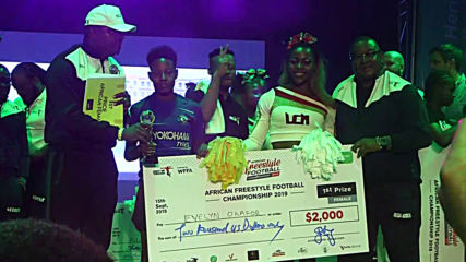 Africa's flashiest freestyle footballers battle it out for big bucks in Lagos