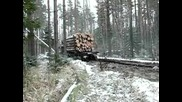 ruski kamion ural - nqma spirane