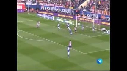 """""""Атлетико"""" (М) надви с 2:0 """"Атлетик"""" (Б) и отново е на точка от """"Барселона"""""""