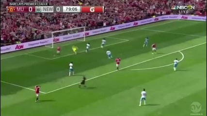 Манчестър Юнайтед - Нюкасъл 0-0
