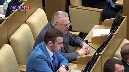 Жириновски: Сащ са виновни за новия вирус, това е поредната провокация - Лдпр-тв - 22.1.2020