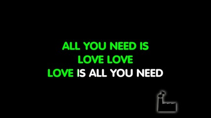 The Beatles - All You Need Is Love - Karaoke