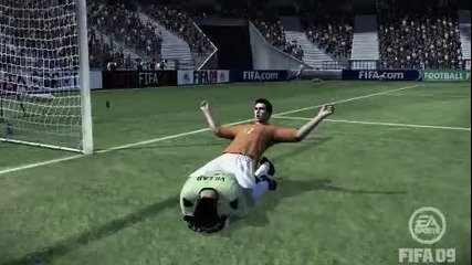 Вече и вратарят не е девствен (смях) Fifa 09