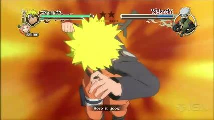 Naruto Shippuden Ultimate Ninja Storm 2 Gameplay
