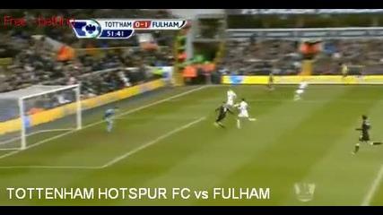 17.03.2013 Tottenham vs Fulham 0-1 / Бербатов 52'
