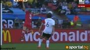 Полското дуо Клозе - Подолски постави Германия на колене пред Сърбия 0:1