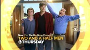 Two and a Half Men 10x18 Promo | The 9:04 From Pemberton |