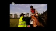 Катаджия спира конник за превишена скорост - голям смях - Аламинут - 14.05.08 HQ