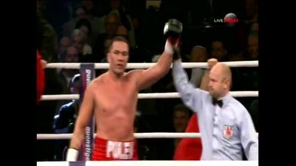 Кубрат Пулев победи Джоуи Абел и защити интернационалната си титла в тежка категория ! 14.12.2013