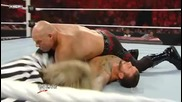 Raw 27/6/11 - Cm Punk vs Kane