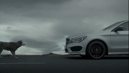 Зверска Реклама на Mercedes-benz - C L A