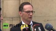 Germany: Justice Minister Maas visits Heidenau after violent anti-refugee protests